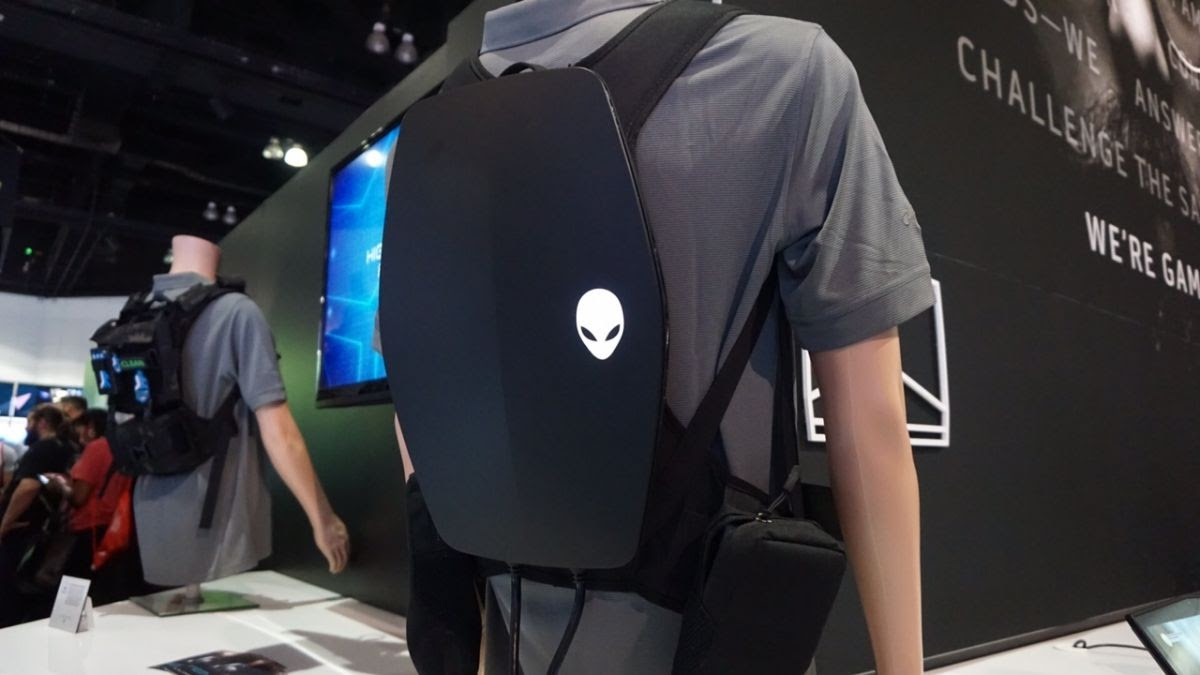 Alienware ra mắt Backpack PC - giải pháp chơi game VR di động