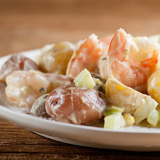 Shrimp and Baby Potato Salad.