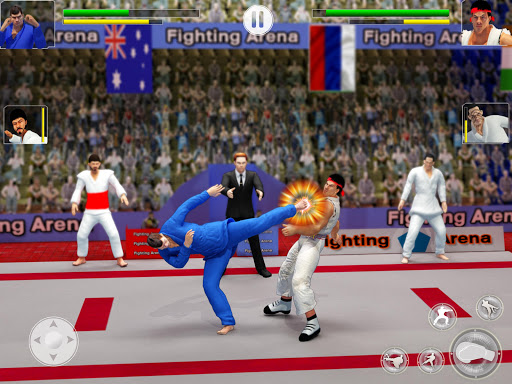 Tag Team Karate Fighting Games: PRO Kung Fu Master 2.1.9 screenshots 5