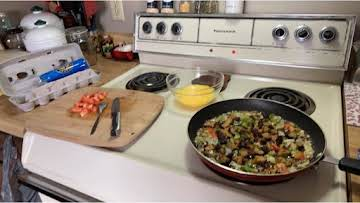 Non-Traditional 3-Egg Western Omelette
