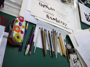 Photo: Les outils