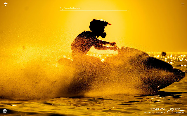 Jet Skiing Hd Wallpapers New Tab Theme