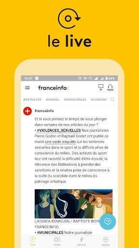 franceinfo : actualitu00e9s et info en direct Apk 1