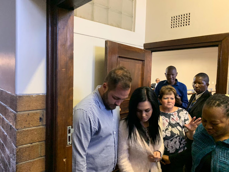 Amy Leigh De Jager S Parents Arrive At Vanderbijlpark Court Ahead Of Kidnapping Case