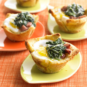 Green Eggs and Ham Mini Tartlets