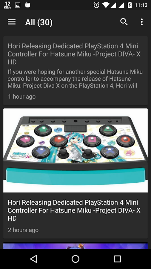 News for Vocaloid & UTAU- screenshot