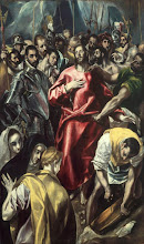 Photo: El Greco, The Disrobing of Christ, Ca. 1606-08