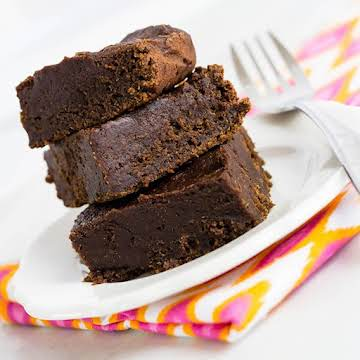Recipe: Two Ingredient Chocolate Pumpkin Brownies | Skinny Mom | Where Moms Get the Skinny on Healthy Living