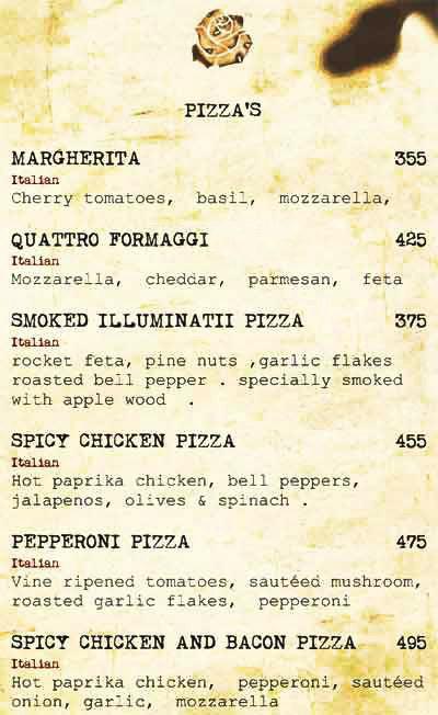 Cafe Illuminatii menu 9