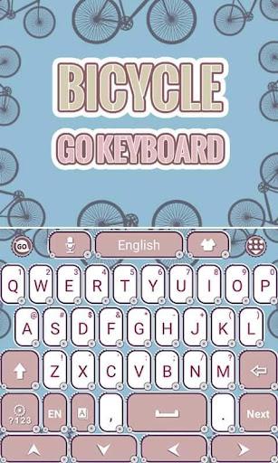 Bicycle Keyboard Theme Emoji