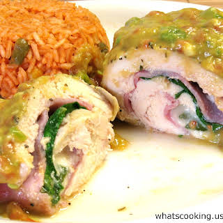 Mango Stuffed Chicken Recipes.