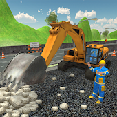 Highway Construction Simulator Games 2018