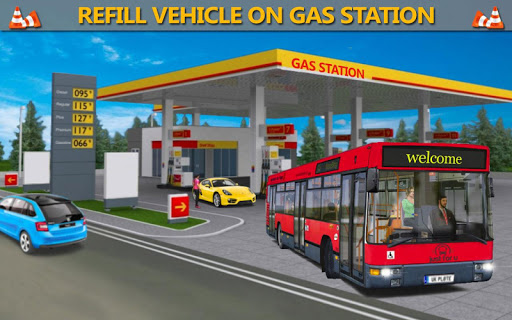 Gas Station Bus Driving Simulator 1.2 screenshots 7