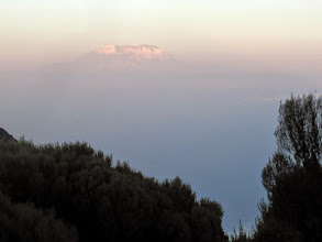 Photo: Mount Kilimanjaro - 40 miles away
