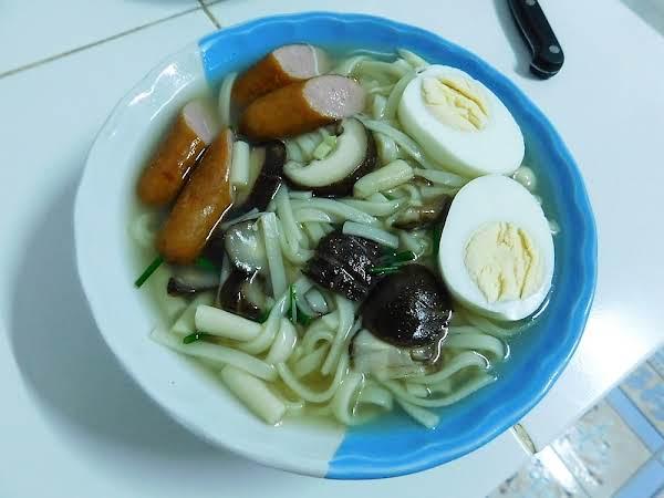 Asian Rice Noodle Soup