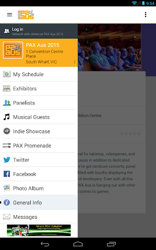 PAX Aus 2015 Mobile App