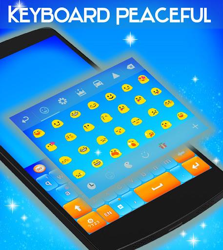 玩免費個人化APP|下載平和なキーボードのテーマ app不用錢|硬是要APP