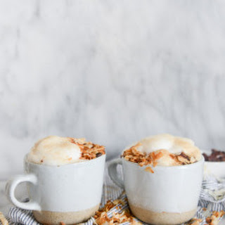 Homemade Coconut Lattes