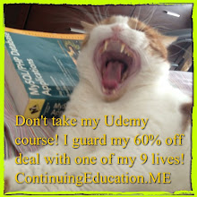 Photo: Don't take my @Udemy course! I guard my 60% off deal with one of my 9 lives! ! #intercer #cat #cats #education #udemy #pet #pets #beautiful #pretty #sweet #continuingeducation #learn #petsofinstagram #school #teach #teach2013 #college #student #affiliate #deal #sale #book #guard #save - via Instagram, http://instagram.com/p/YivfshJfvO/