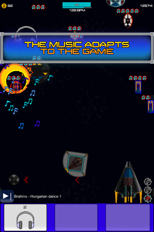 Cosmic Beat- screenshot