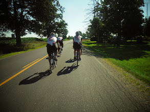 Photo: Day 44 London ON to Brantford ON Aug 2 2013 Scenery starting to change, we see orchards, and even some vineyards