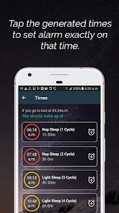 Sleep Time Calculator - Wake me up - náhled