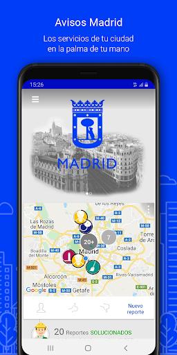 Avisos Madrid screenshot 1