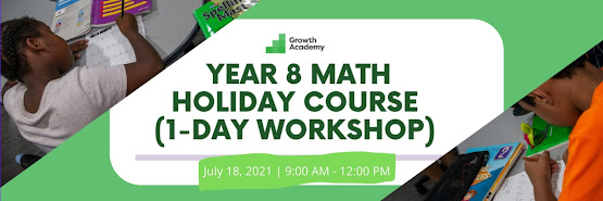 Year 8 Math Holiday Course (1-day online workshop)
