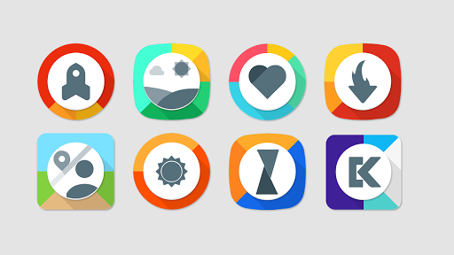 Ascio - Icon Pack app for Android screenshot