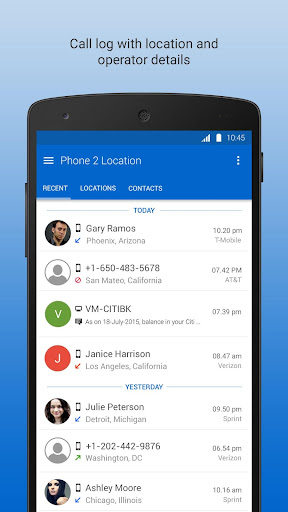 Phone 2 Location - Caller ID Mobile Number Tracker 6.52 screenshots 3