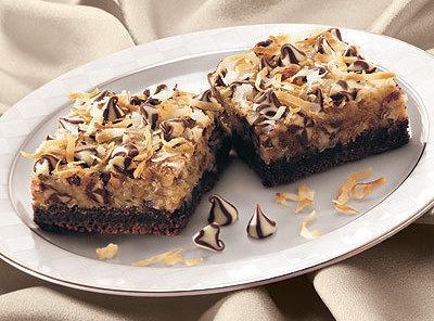 German Chocolate Coconut Bars Recipe