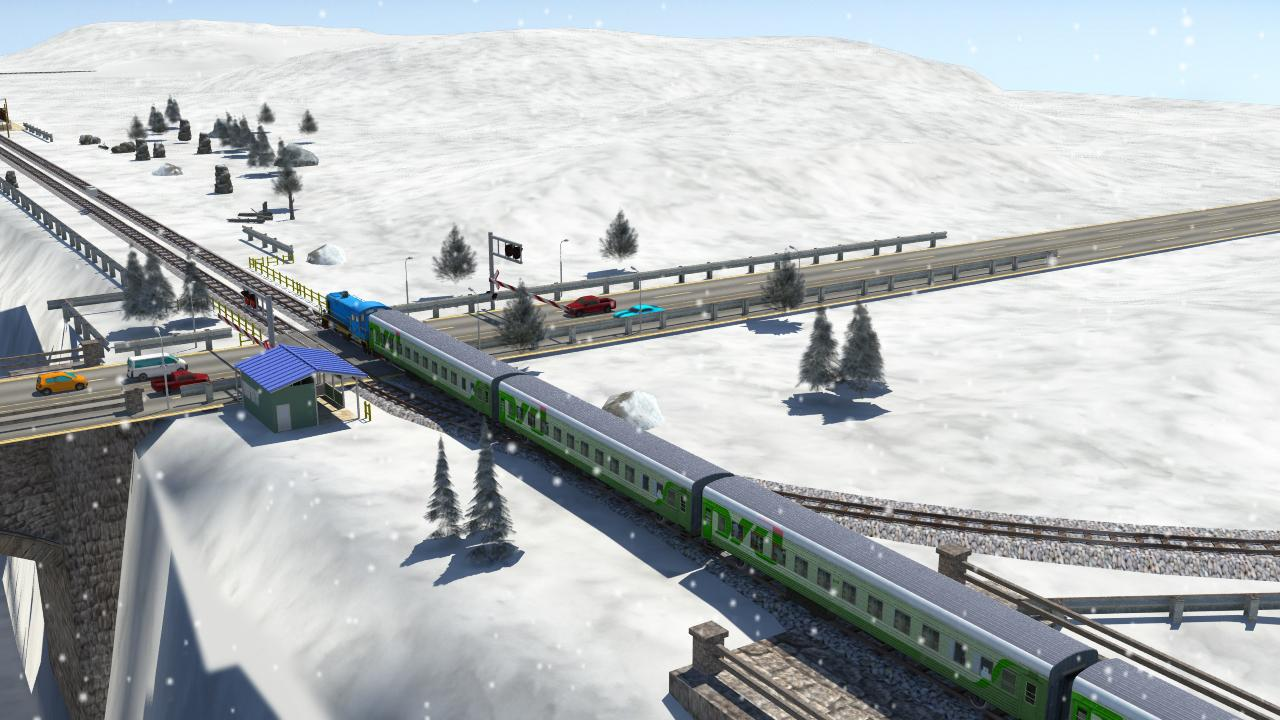 Train Simulator by i Games- screenshot
