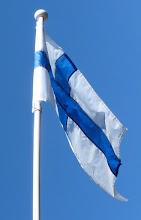 Foto: Suomen lippu/Finska flaggan.