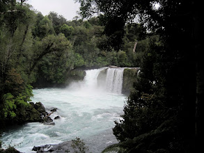 Photo: Day 5 -  Waterfall in the Anticura sector of  Puyehue National Park in the Chilean Lake District