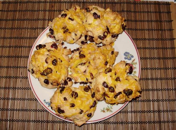 Lady Bat's Sunday Breakfast Cranberry-orange Scones Recipe