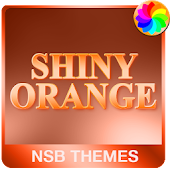 Shiny Orange Theme for Xperia