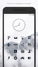 Flight Dark - Flat Icons (Free Version) Apk Download Free for PC, smart TV