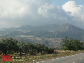 Photo: on our way to Marrakech passing through the mid Atlas mountain