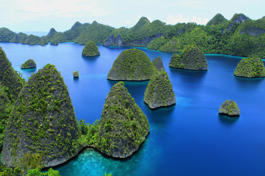 Beautiful of Wayag by Akhmad Solihin - Landscapes Waterscapes ( west papua, raja ampat, small island, wayag )