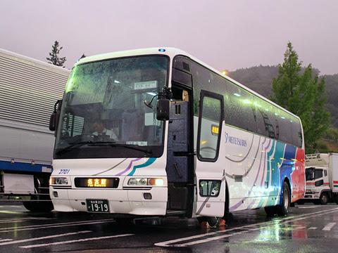 名鉄バス「名古屋~新潟線」 27011 姨捨サービスエリアにて