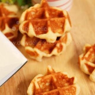 Easy Belgium Waffle Recipe
