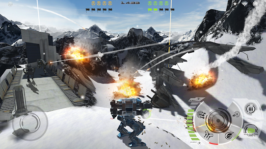 Mech Battle – Robots War Game 4.1.5 Mod APK Latest Version 2