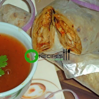 Chicken Roll Paratha