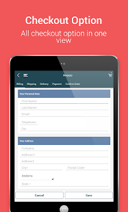 Niftyapp - Magento Mobile App- screenshot thumbnail