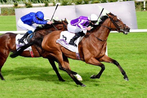 Una hembra cortó la racha del mejor caballo del mundo en el Irish Champion
