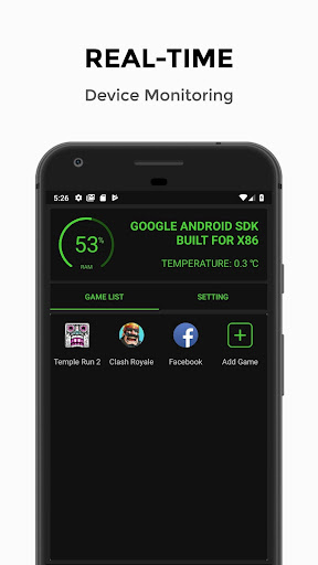 Screenshot for Game Booster  4x Faster (with advance settings) in Hong Kong Play Store