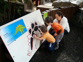 Photo: Eva and The Boys Dino Puzzle