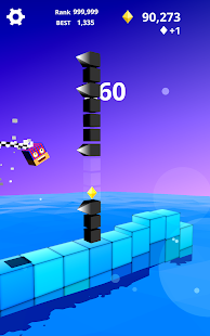 Jump Jump Cube : Endless Square (Vault Arcade) Screenshot