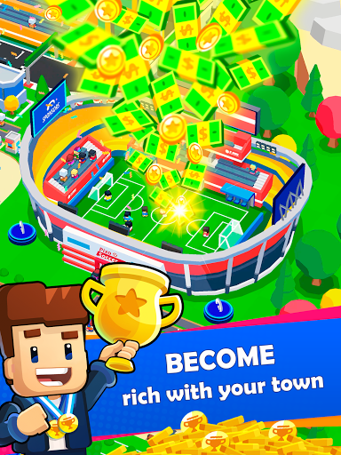 Idle Sports City Tycoon Game: Build a Sport Empire apkpoly screenshots 14