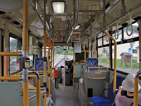 沿岸バス「豊富留萌線」  ・402 車内